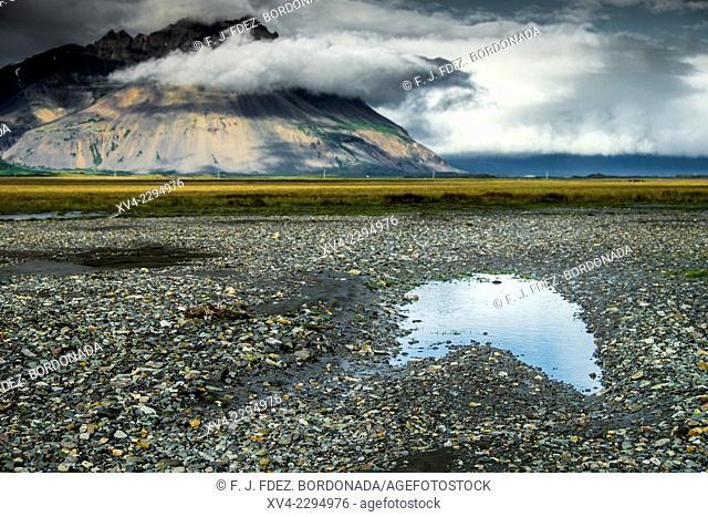 Jokulsa estuary, East Iceland