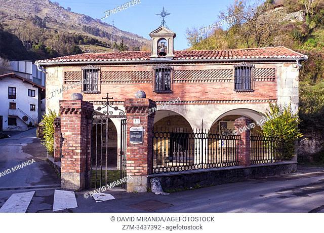 Ermita de la Magdalena. Azpeitia. Guipúzcoa. País Vasco. España