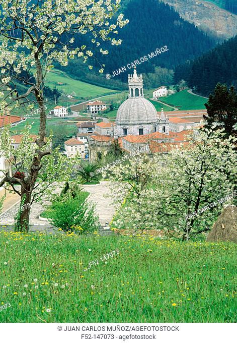 Loyola Sanctuary in Azpeitia. Guipuzcoa. Euskadi, Spain