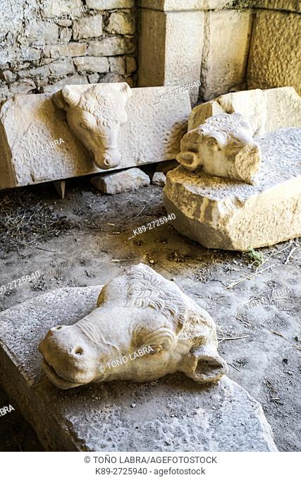 Aphrodisias Amphitheater. Ancient Greece. Asia Minor. Turkey