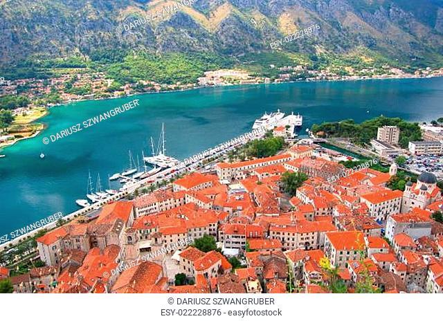 View on Kotor, Montenegro