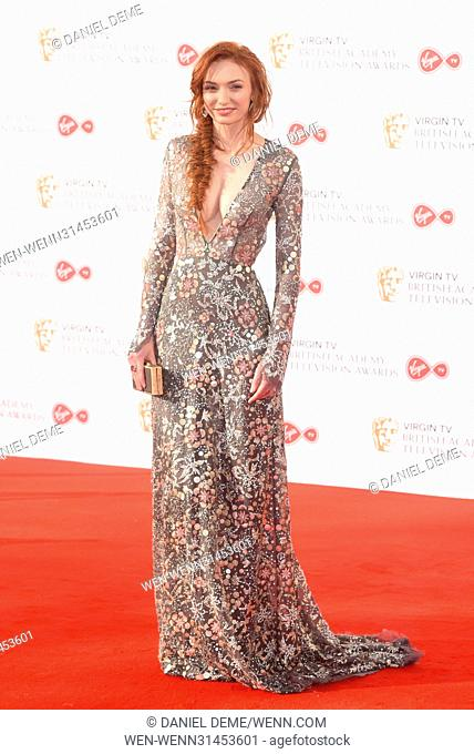 The Television BAFTA Awards 2017 - Arrivals Featuring: Eleanor Tomlinson Where: London, United Kingdom When: 14 May 2017 Credit: Daniel Deme/WENN.com