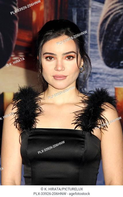 """Andrea Londo 12/09/2019 """"""""Jumanji: The Next Level"""""""" Premiere held at the TCL Chinese Theatre in Hollywood, CA. Photo by K. Hirata / HNW / PictureLux"""