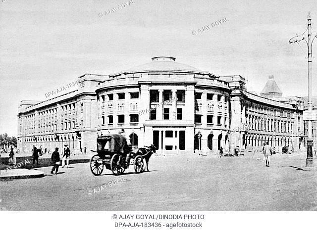 old vintage photo of institute of science mumbai maharashtra India
