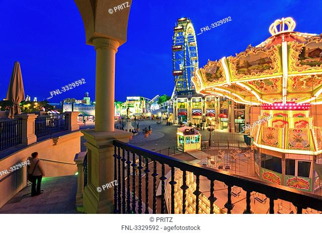 Ferris wheel, Prater, Vienna, Austria