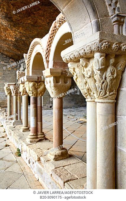 Monastery of San Juan de la Peña, Huesca province, Aragón, Spain, Europe