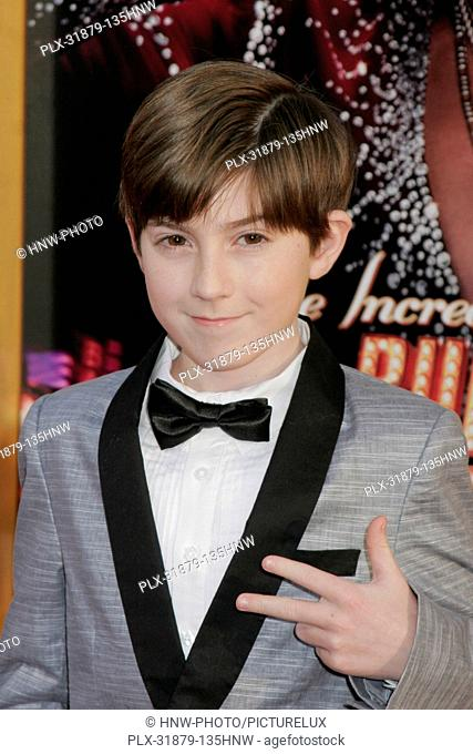 Mason Cook 03/11/2013 The Incredible Burt Wonderstone Premiere held at TCL Chinese Theatre in Hollywood, CA Photo by Kazuki Hirata / HNW / PictureLux