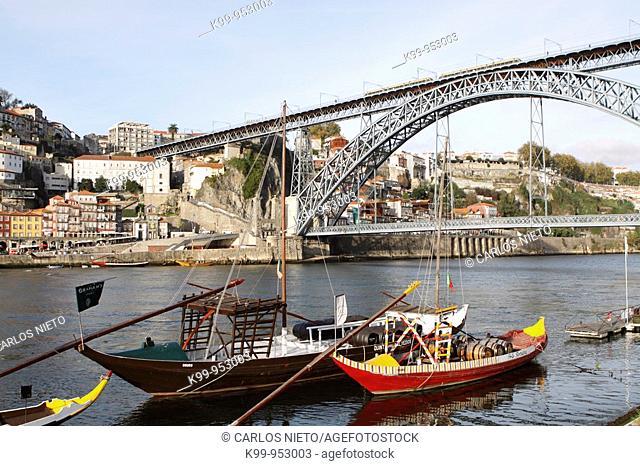 Puente Luis I, S. XIX, Oporto - Portugal
