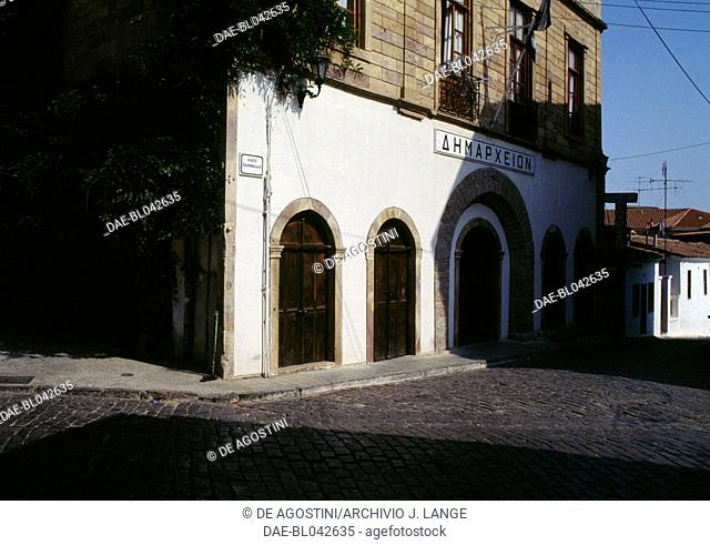 Building in Xanthi, Eastern Macedonia and Thrace, Greece