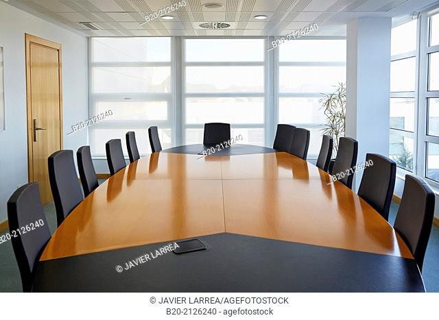 Meeting room. Parque Tecnológico de San Sebastian. Donostia. Gipuzkoa. Basque Country. Spain