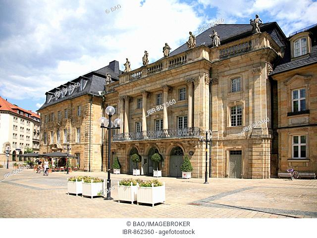 Markgraefliches Opernhaus, Margravial Opera House in Bayreuth, Upper Franconia, Franconia, Bavaria, Germany, Europe