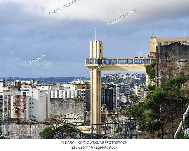 Lacerda Elevator, Salvador, State of Bahia, Brazil