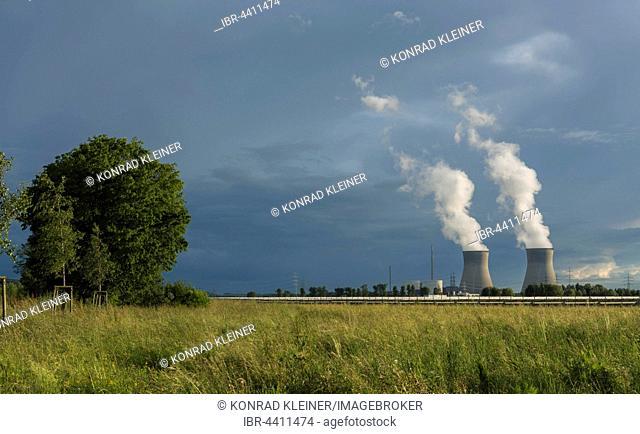 Gundremmingen nuclear power plant, Swabia, Bavaria, Germany