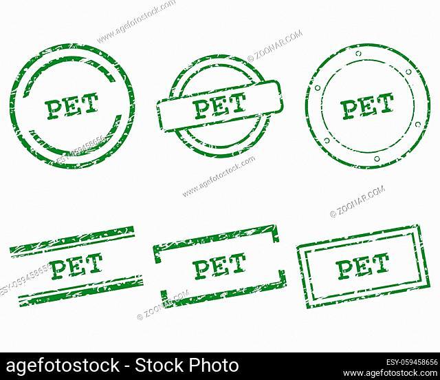 Pet Stempel - Pet stamps