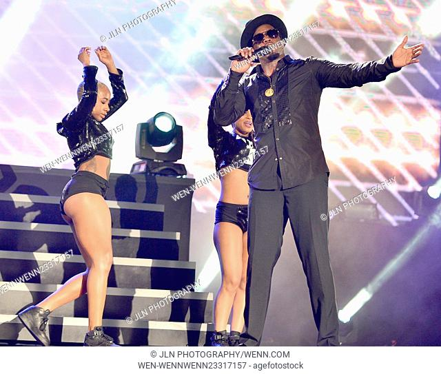 """Pitbull's New Year's Revolution 2016 at Bayfront Park Amphitheater Featuring: Sean """"""""P Diddy"""""""" Combs Where: Miami, Florida"""