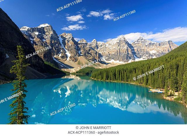 Morainelake, Banff National Park, Alberta, Canada