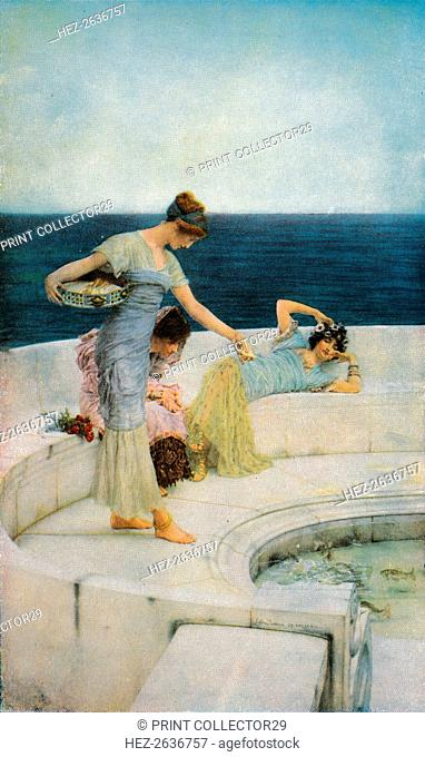 'Silver Favourites', c1903, (1918). Artist: Sir Lawrence Alma-Tadema