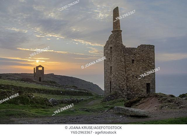 Botallack Mine, Cornwall, England, United Kingdom