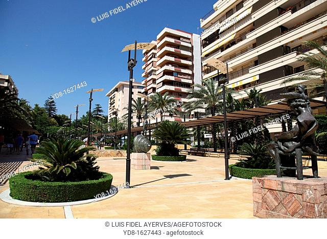 Salvador Dali Sculptures, Marbella, Andalusia, Spain, Europe