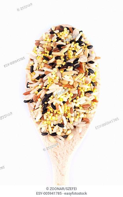 Multi Raw grains