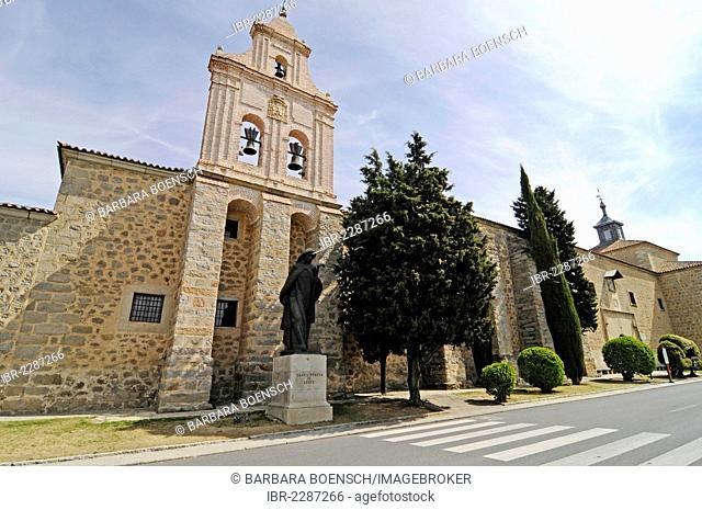 Monasterio de la Encarnacion, monastery, church, Avila, Castile-Leon, Spain, Europe, PublicGround