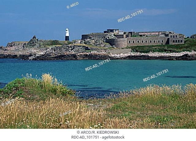 Fort Corblets Alderney Channel Islands Great Britain