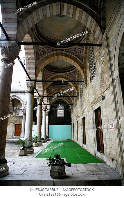 New Mosque; 1597-1663, Turkey, Istanbul, Interior, Dome of the Yenicamil Eminonu Mosque