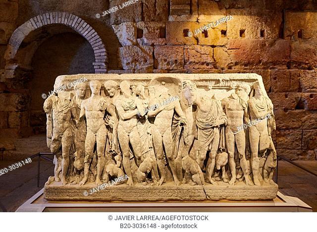 Roman Praetorium, History Museum of Tarragona (MHT), Tarragona City, Catalonia, Spain, Europe