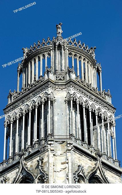 Europe, France, Loiret region, Orleans, Sainte Croix Cathedral