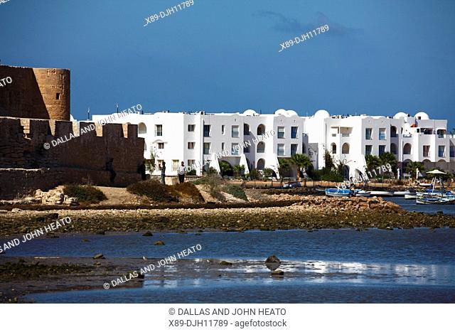 Africa, Tunisia, Djerba Island, Houmt Souk, Borj el Kebir Fortress