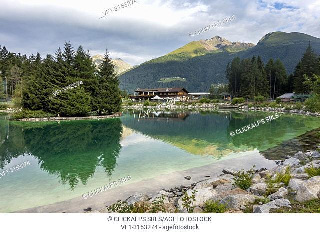 Valbione Lake, Ponte di Legno, Province of Brescia, Lombardy, Italy