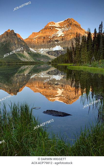 Shadow Lake and Mount Ball, Banff National Park, Alberta, Canada