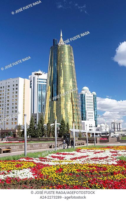 Kazakhstan, Astana City, New Administrative City, Nurzhol Avenue ,