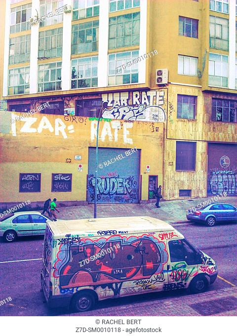 22@ District, Urban Scene, Barcelona, Catalonia