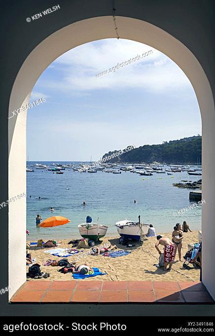 Calella de Palafrugell, Girona Province, Costa Brava, Catalonia, Spain