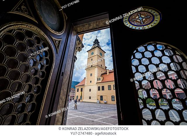 Former City Hall of Brasov, Romania called Council House (Casa Sfatului) at Council Square, History Museum nowdays