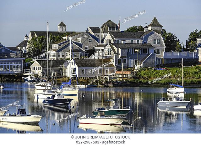 Wychmere Harbor, Harwich, Cape Cod, Massachusetts, USA