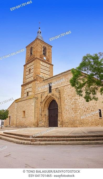 Senora de Asuncion church in Villa Don Fadrique at Toledo spain