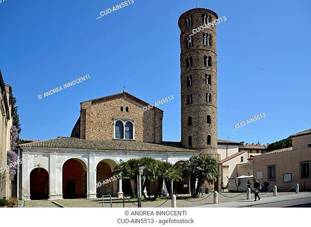 Basilica of Sant' Apollinare Nuovo , Ravenna, Emilia Romagna, Italy, Europe