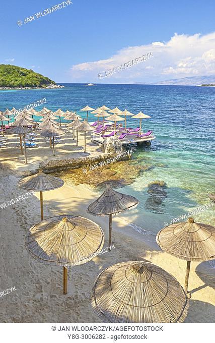Albanian Riviera, Ksamil Beach, Albania