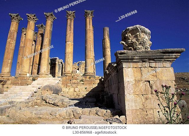 Archaeological site of Jerash, Jordan