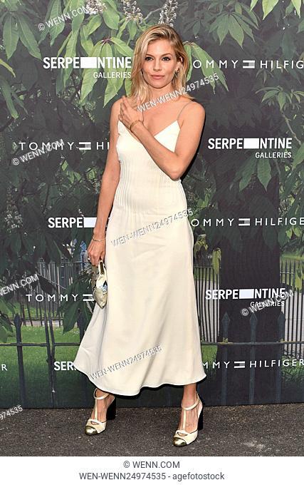 Serpentine Gallery Summer Party held in Kensington Gardens - Arrivals Featuring: Sienna Miller Where: London, United Kingdom When: 06 Jul 2016 Credit: WENN