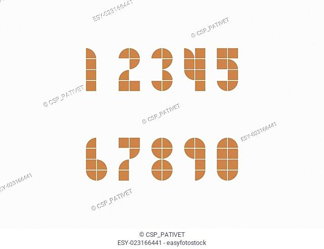 2D geomatic style Number