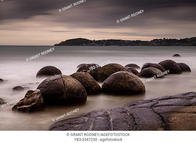 The Moeraki Boulders, Otago Coast, South Island, New Zealand