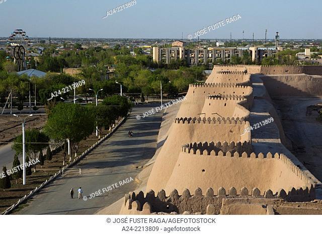 Uzbekistan , Khorezm Region, Khiva City (W.H.) , Western City Walls