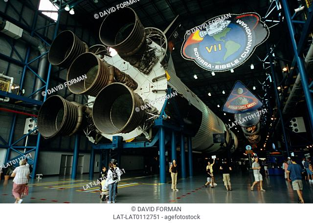 The Kennedy Space Centre is the NASA space launch facility and Launch Control Centre. It is also open to the public,and is a major tourist destination