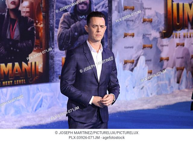 """Colin Hanks at Sony Pictures' """"""""Jumanji: The Next Level"""""""" World Premiere held at the TCL Chinese Theater in Hollywood, CA, December 9, 2019"""