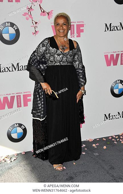 Women In Film 2017 Crystal and Lucy Awards held at The Beverly Hilton Hotel - Arrivals Featuring: Shari Belafonte Where: Los Angeles, California