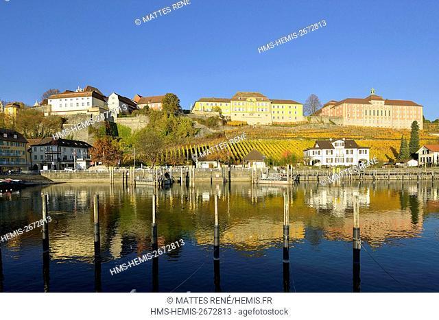 Germany, Baden Wurttemberg, Lake Constance (Bodensee), Meersburg, State Winery Meersburg
