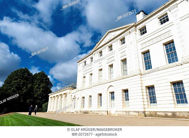 Kenwood House, neoclassical stately home, Hampstead Heath, London, England, United Kingdom, Europe